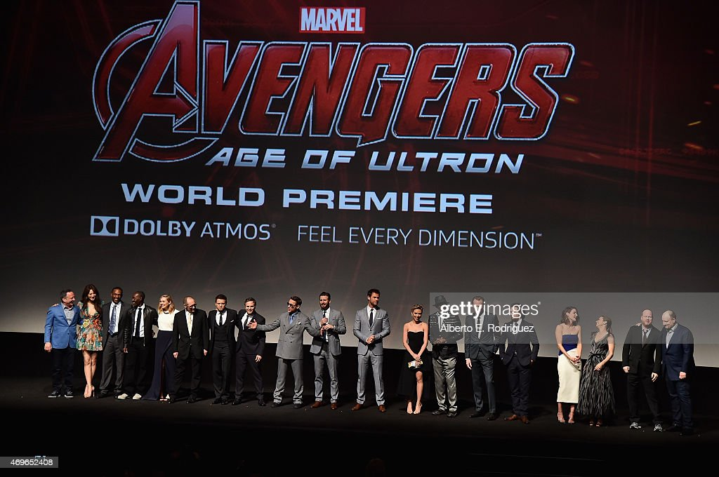 "World Premiere Of Marvel's ""Avengers: Age Of Ultron"" - Red Carpet : News Photo"