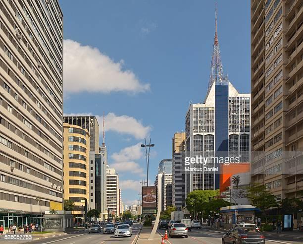 Avenida Paulista in Sao Paulo, Brazil