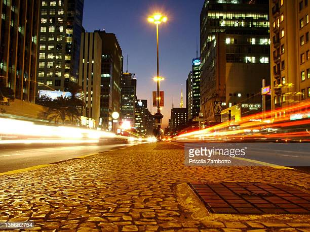 Avenida Paulista noite