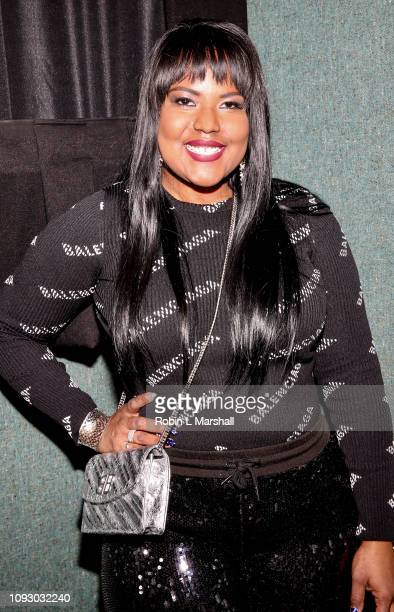 Aventer Gray attends NAACP Image Awards special screening of OWN's 'The Book Of John Gray' at Raleigh Studios on January 11 2019 in Los Angeles...
