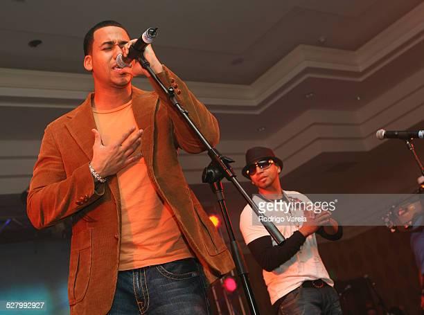 Aventura during 2006 Billboard Latin Music Conference Awards Sony BMG Live Artist Showcase at Ritz Carlton Hotel in Miami Beach Florida United States