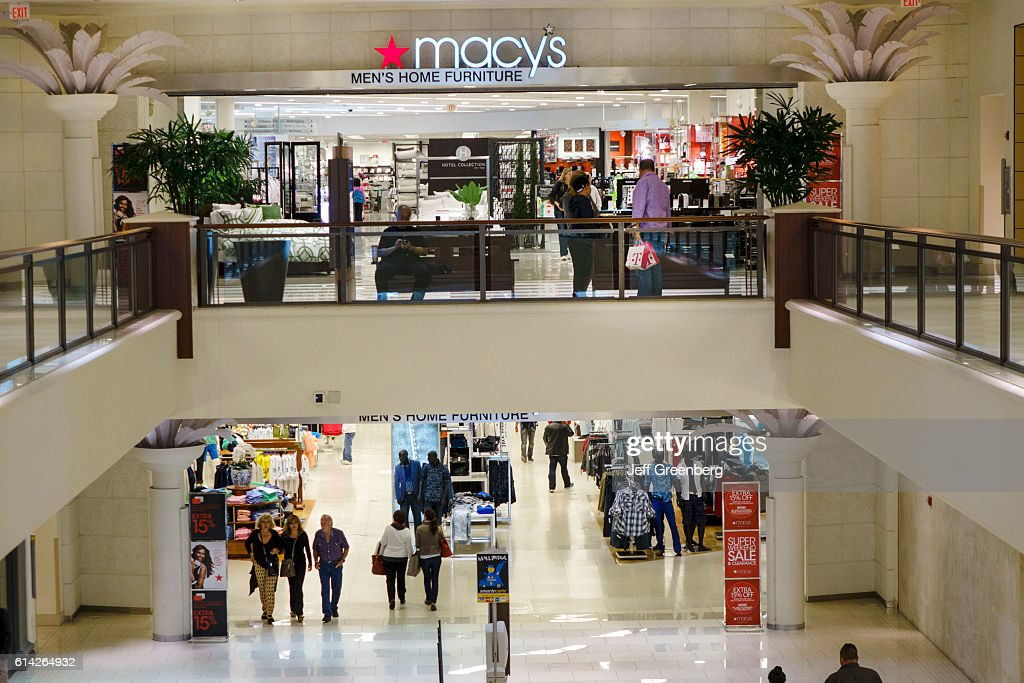 Aventura Mall, Macy's department store entrance. Pictures | Getty Images
