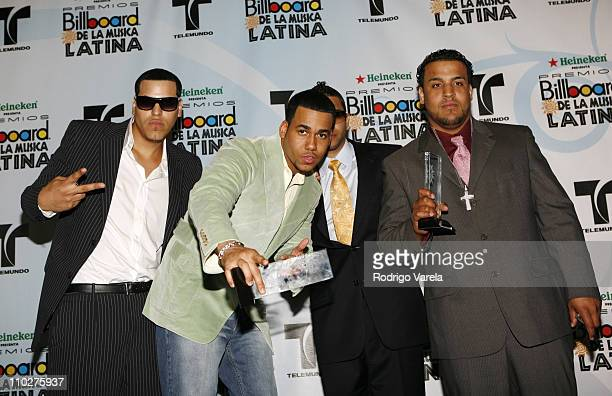 Aventura winners Tropical Album of the Year Duo or Group for 'God's Project' Tropical Airplay Song of the Year Duo or Group 'Ella Y Yo' featuring Don...