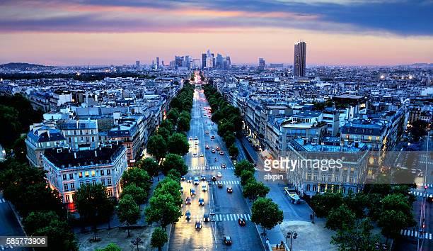 Avenue de la Grande Armee, Paris