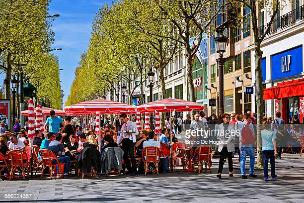 Avenue des Champs Elysees in Paris