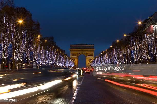 Avenue des Champs-Élysées et de l'Arc de Triomphe