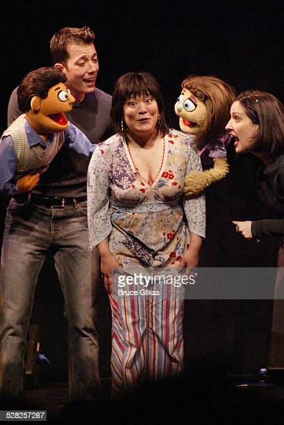 Avenue Q stars Rod John Tartaglia Ann Harada Kate and Stephanie D'Abruzzo