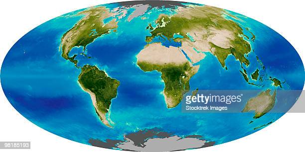 average plant growth of the earth. - biosphere planet earth stock photos and pictures
