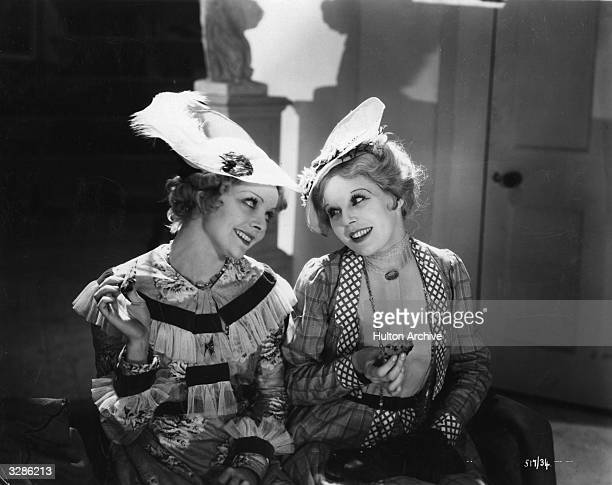 Averil Haley and Rene Ray play two chorus girls in the film 'Dance Pretty Lady', an early talkie based on the novel 'Carnival' by Compton Mackenzie....