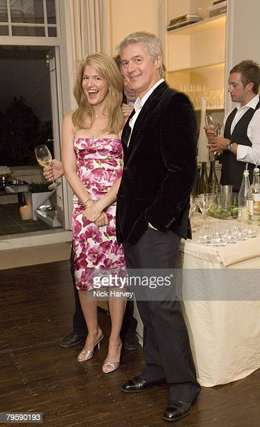 Avery Agnelli and guest attend the Diane Von Furstenberg Party hosted by Arpad Busson on September 16 2007 in Chelsea London