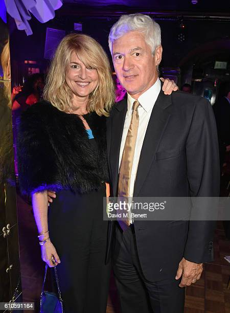 Avery Agnelli and John Frieda attend Goldie's LoveIn For The Kids the 5th annual fundraising dinner hosted by Goldie Hawn in aid of The Hawn...