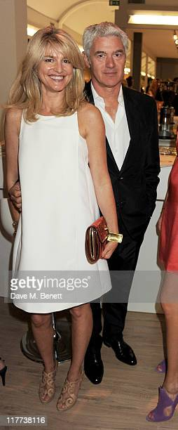 Avery Agnelli and John Frieda attend the Masterpiece Midsummer Party in aid of Clic Sargent at The Royal Hospital Chelsea on June 30 2011 in London...