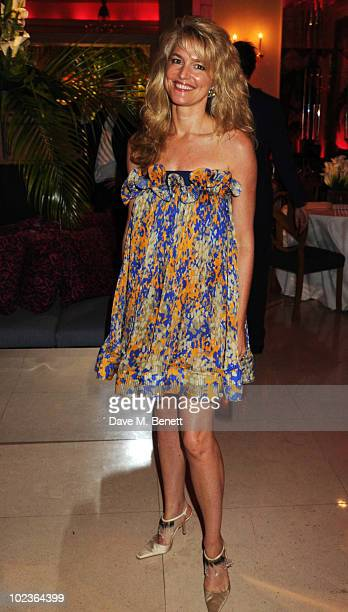 Avery Agnelli attends the Diane Von Furstenberg and Claridge's launch party at Claridge's on June 23 2010 in London England