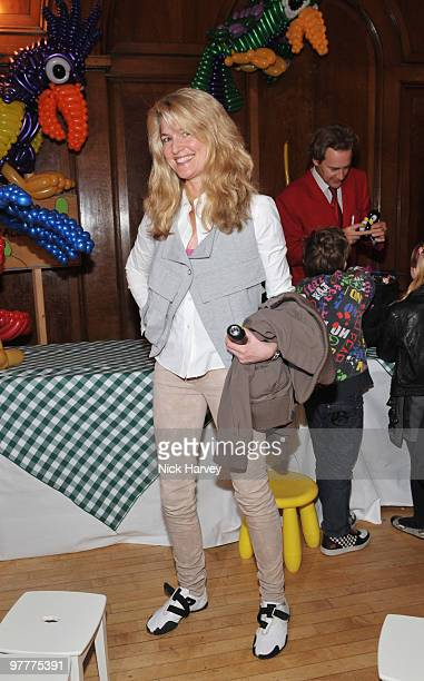 Avery Agnelli attends the launch of new collection by Stella McCartney for GapKids at Porchester Hall on March 16 2010 in London England