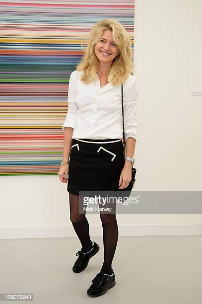 Avery Agnelli attends the preview of Frieze Art Fair at Regent's Park on October 12 2011 in London England