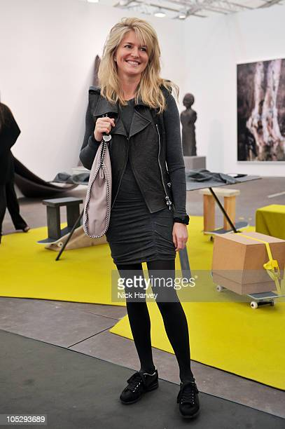 Avery Agnelli attends the VIP Preview of Frieze Art Fair at Regent's Park on October 13 2010 in London England