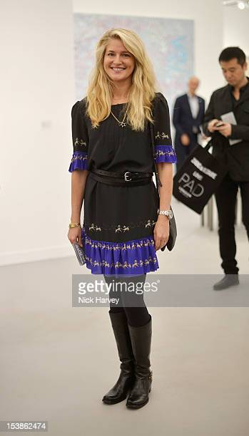 Avery Agnelli attends the VIP preview of Frieze Art Fair on October 10 2012 in London England