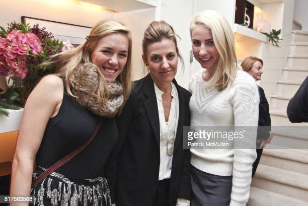 Avery Cox Heather Caster and Alexis Manfer attend Sferra and Campion Platt Celebrate the Holidays at the home of Campion Platt at Private Residence...