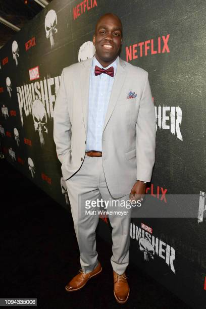 Avery Mason attends Marvel's The Punisher Los Angeles Premiere at ArcLight Hollywood on January 14 2019 in Hollywood California