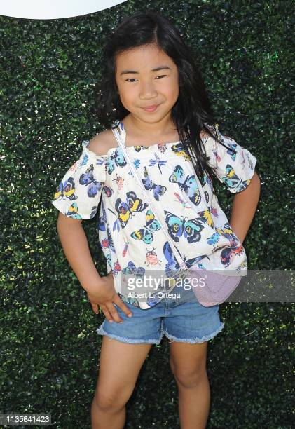 Avery Russo arrives for Clubhouse Kidchella held at Pershing Square on April 6 2019 in Los Angeles California