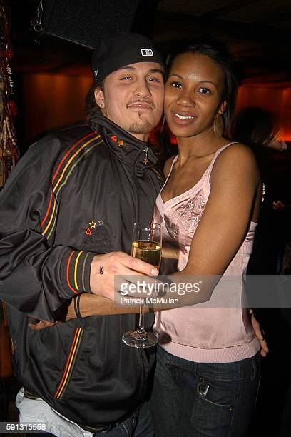 Avery Storm and Mashariki Williamson attend Corleone Launch of MODELSCOM Top Sexiest Models at Cain on February 28 2005 in New York City