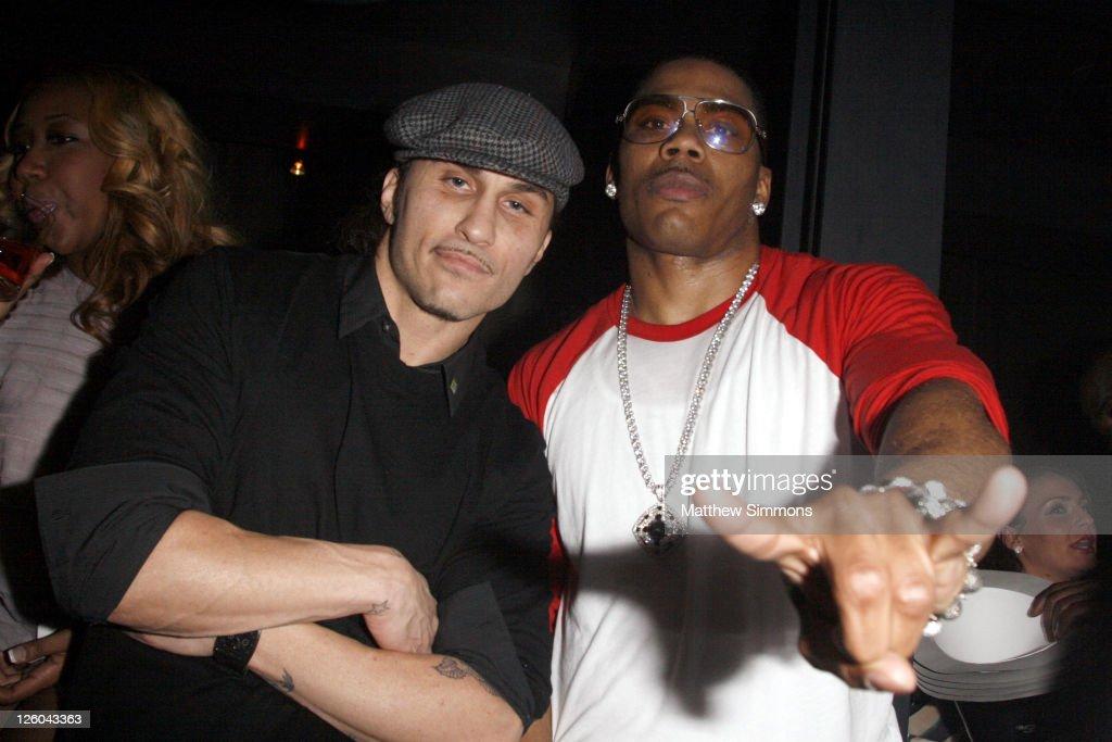 Nelly Hosts New Year's Eve At Haze Nightclub : News Photo