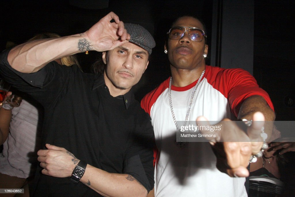Nelly Hosts New Year's Eve At Haze Nightclub : News Photo
