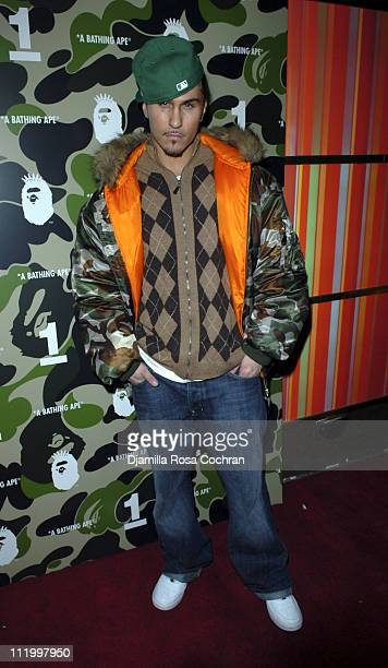 Avery Storm during Nigo Pharrell Present A Bathing Ape NYC 1st Anniversary Celebration at Marquee in New York City New York United States