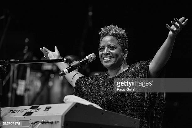 Avery Sunshine performs onstage at ATL Soul Life Music Fest at Wolf Creek Amphitheater on May 29 2016 in Atlanta Georgia
