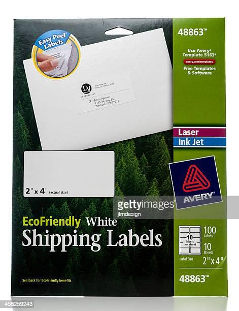 Avery white umweltbewusster Versandetiketten-package