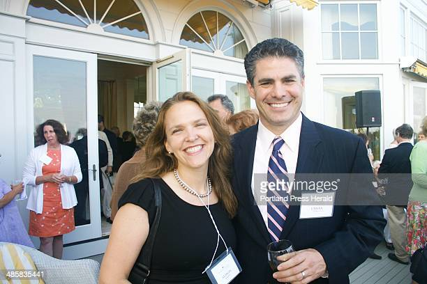 July 28 2010 Alison Beeaker of Portland and her brotherinlaw Ethan Strimling former State Senator of Portland staff photo