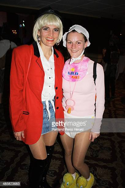 Oct 22 2010 Deb Fox who won the prize for Hollywood Knockout dressed as Julia Roberts in Pretty Woman and Michelle Fox dressed as a babystaff photo