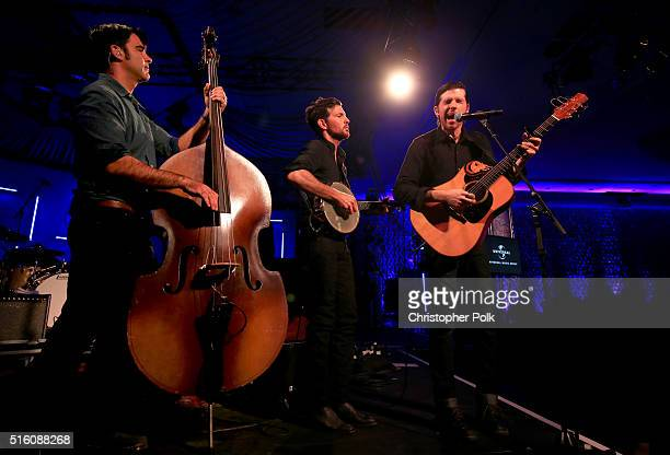 Avett Brothers perform at Music Is Universal presented by Marriott Rewards and Universal Music Group during SXSW at the JW Marriott Austin on March...