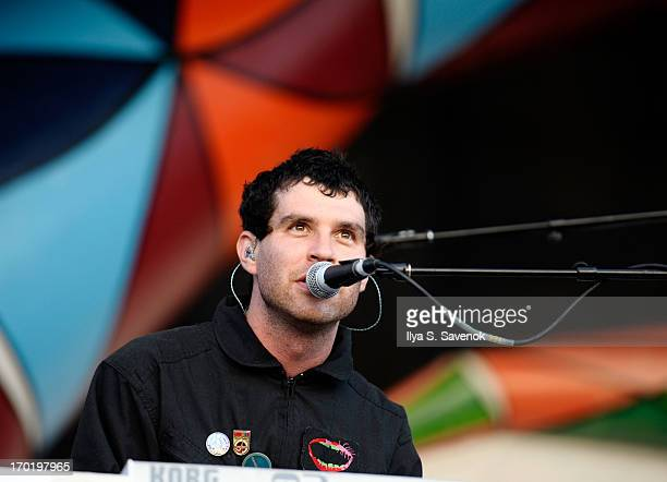 Avey Tare of Animal Collective performs during 2013 Governors Ball Music Festival at Randall's Island on June 8 2013 in New York City