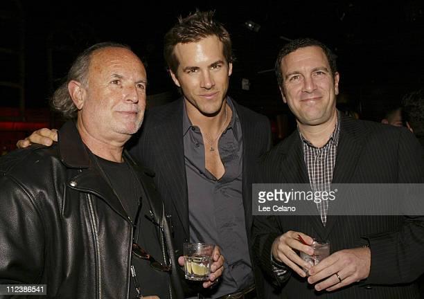 Avi Arad, executive producer, Ryan Reynolds and Peter Frankfurt, producer