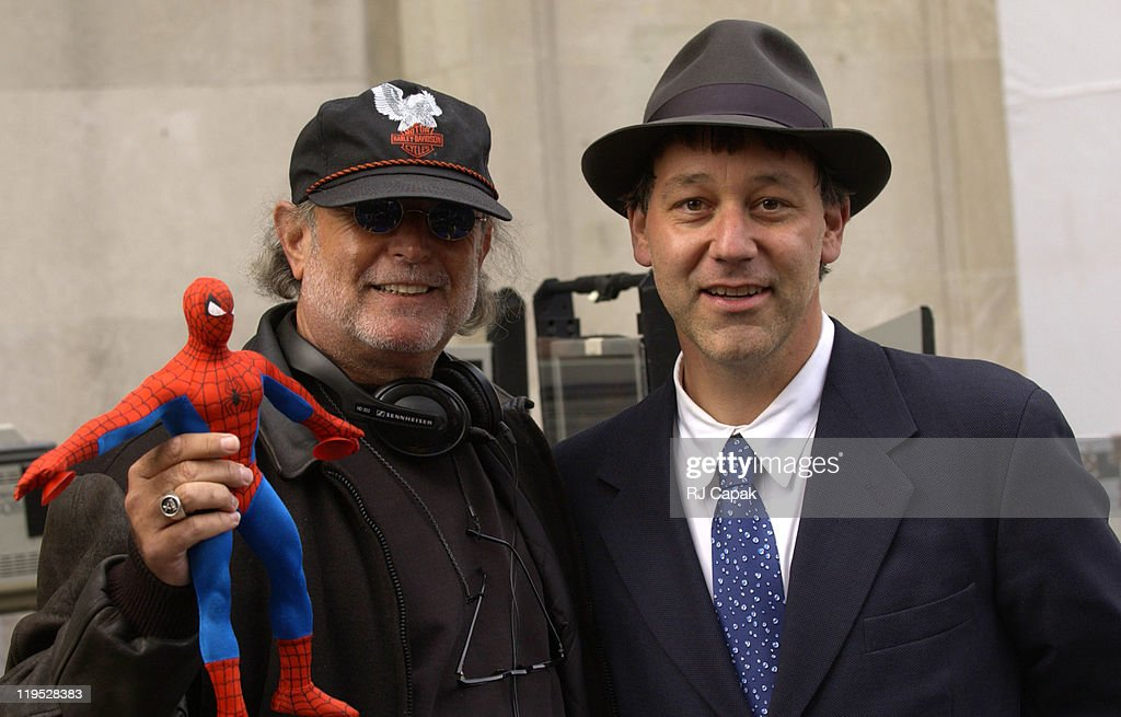 """Filming of """"Spider-Man 2"""" on Location in Manhattan"""