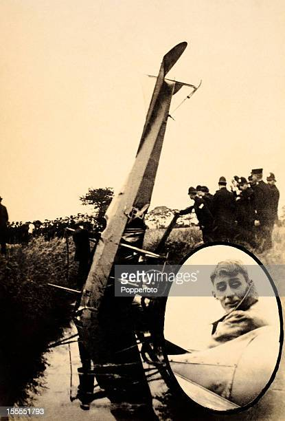 Aviation pioneer Evelyn Ronald Whitehouse who crashed his Deperdussin monoplane at Hull on 12th July 1913 He survived this incident and lived to the...