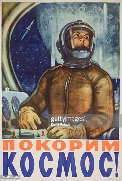Aviation/Space Exploration poster ca 1960