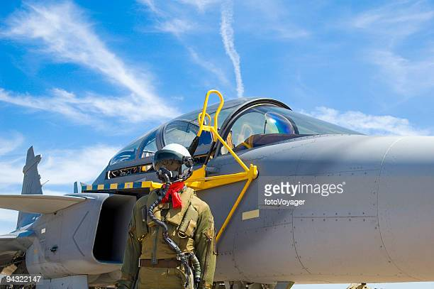 aviator and aircraft - raf stock pictures, royalty-free photos & images
