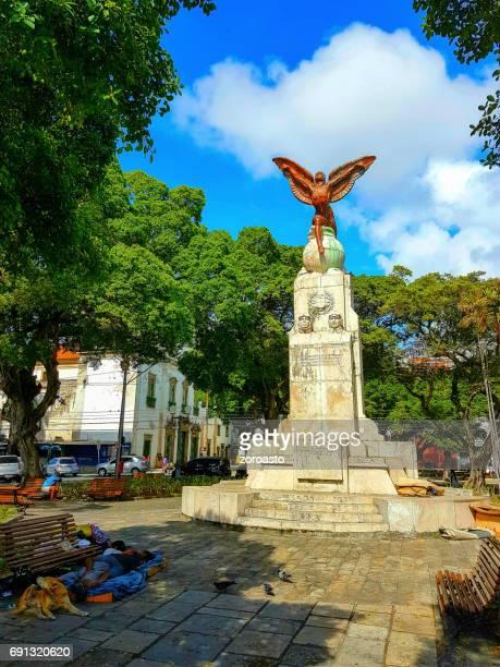 aviator's square in recife city, pernambuco, brazil - antigo stock pictures, royalty-free photos & images