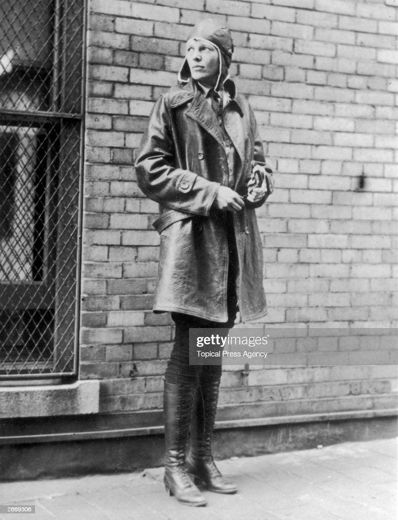 Amelia Earhart : News Photo