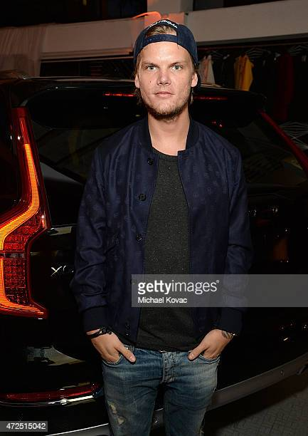 Avicii attends Volvo Cars and Avicii Feeling Good About The Future on May 7 2015 in Los Angeles California