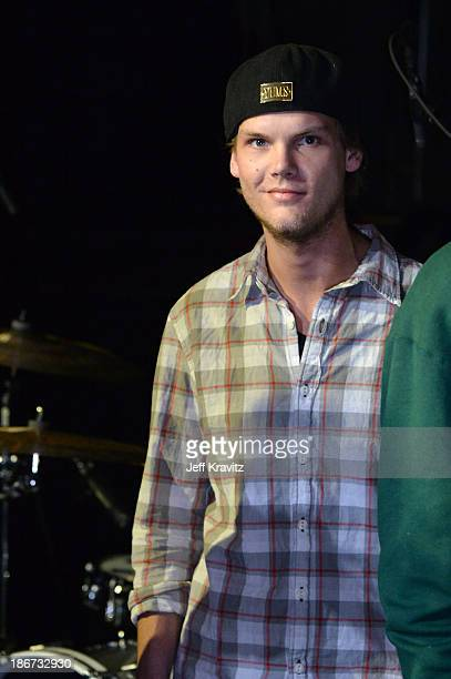 Avicii onstage at the YouTube Music Awards 2013 on November 3 2013 in New York City