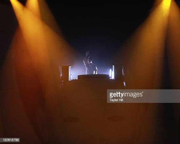 Avicii performs at Radio City Music Hall on September 26 2012 in New York City