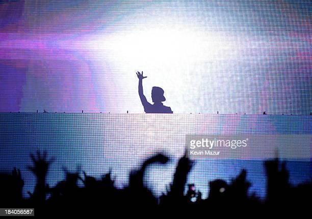 Avicii performs at Roseland Ballroom on October 10 2013 in New York City