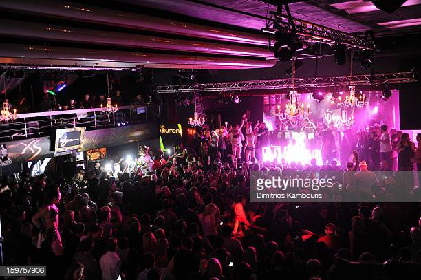 Avicii performs at Wynn Las Vegas @ Park City Live during the 2013 Sundance Film Festival on January 19 2013 in Park City Utah