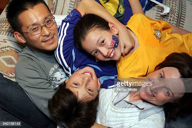 Avid soccer fans the Chiba family father Masanori mother Linda and their children Riki and Emi are divided between Japan and Australia for the World...