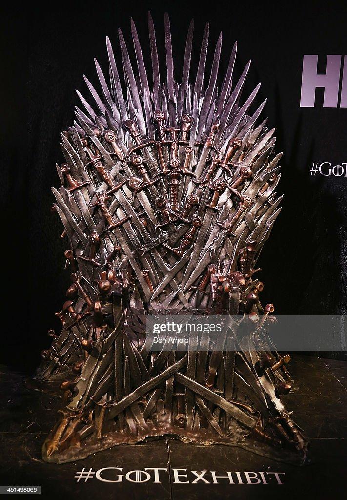Game Of Thrones Exhibition -  Sydney : News Photo