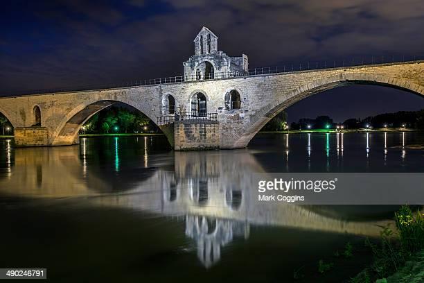 Avignon Bridge by Night