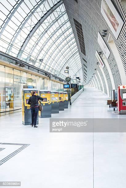 Avignon TGV Station, France